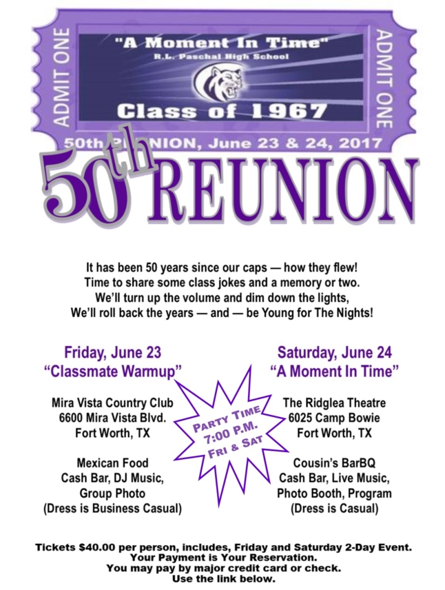 50th reunion invitation stopboris Gallery